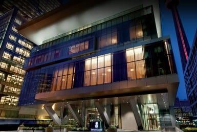 The Ritz-Carlton Toronto Building Exterior
