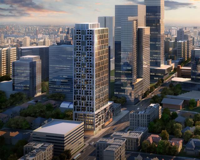 90 Eglinton Condos Property View Toronto, Canada