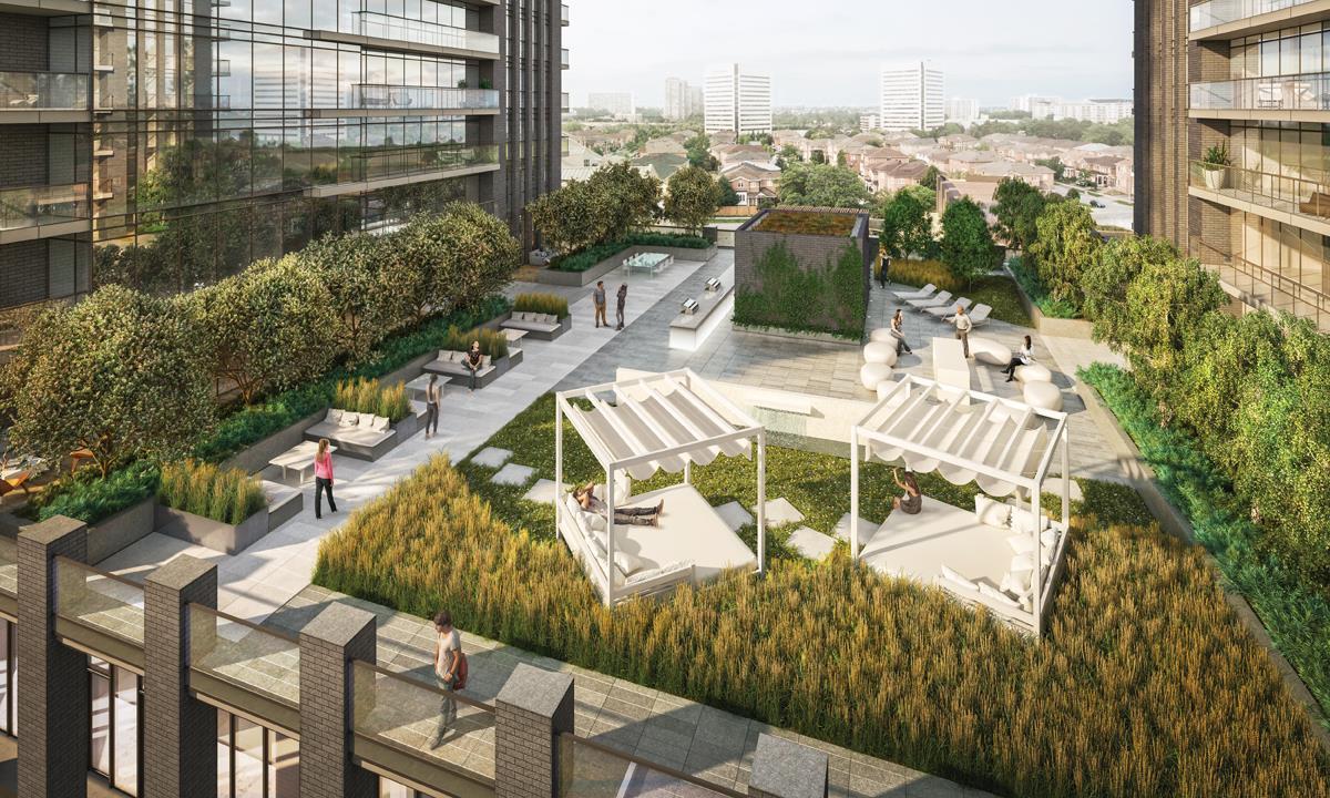Sonic Condos Terrace Garden Toronto, Canada