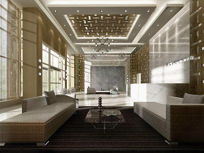 Argento Condos Lobby Toronto, Canada