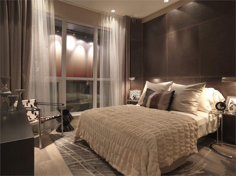 Flaire Condos Bedroom Toronto, Canada