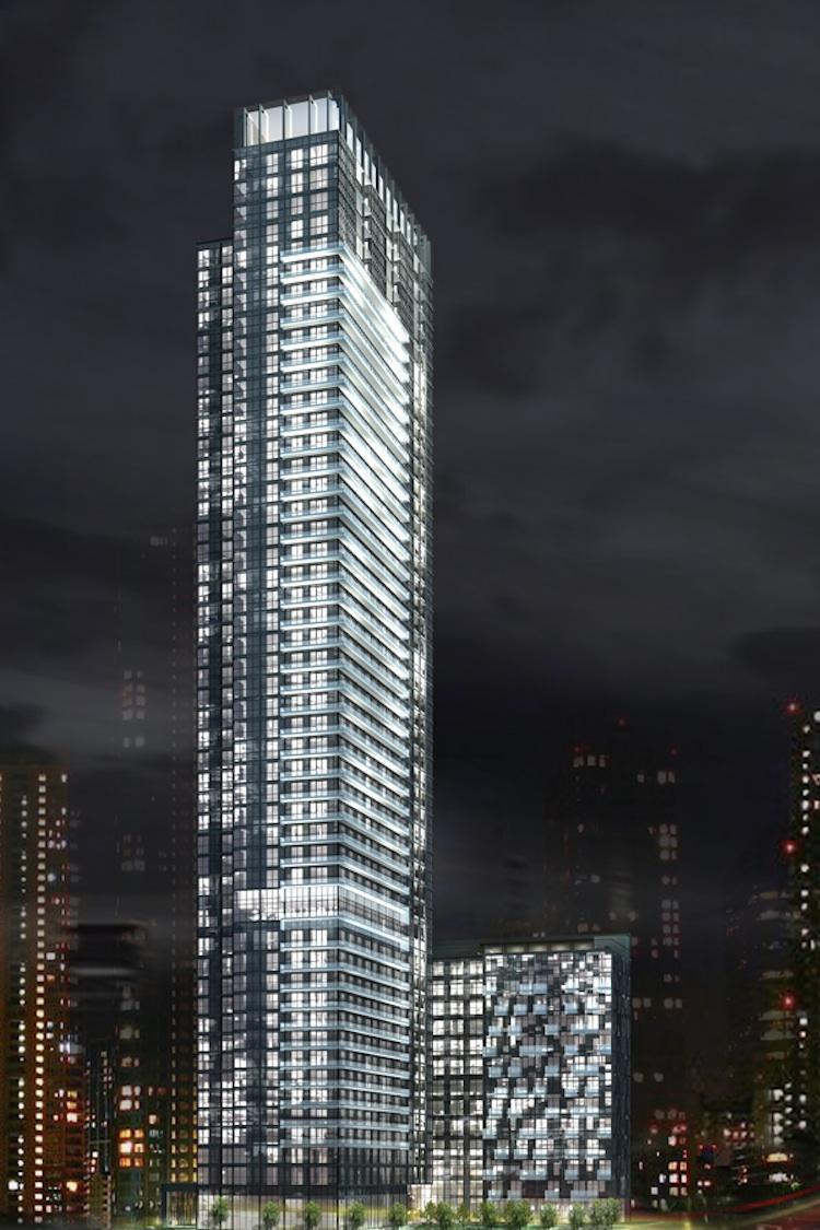 300 Front Condos Building Toronto, Canada