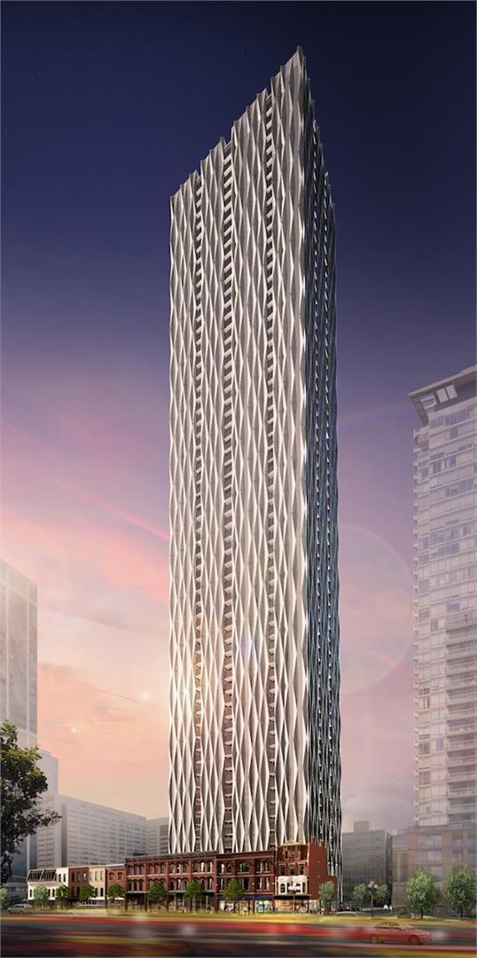 1 Yorkville Condos Building View Toronto, Canada