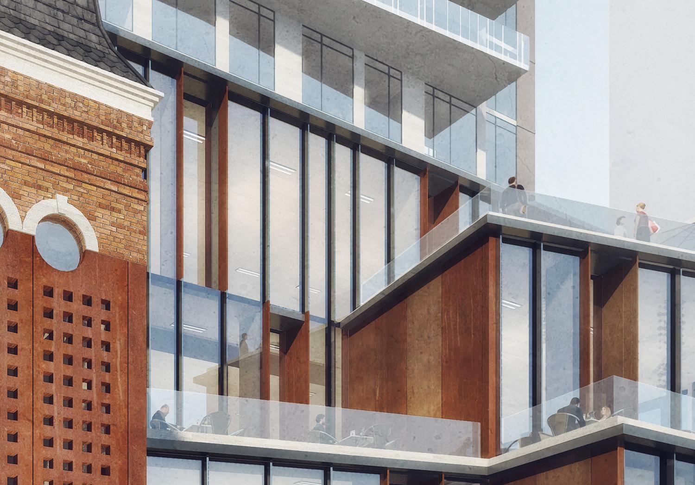 Halo Residences Condos Balcony View Toronto, Canada