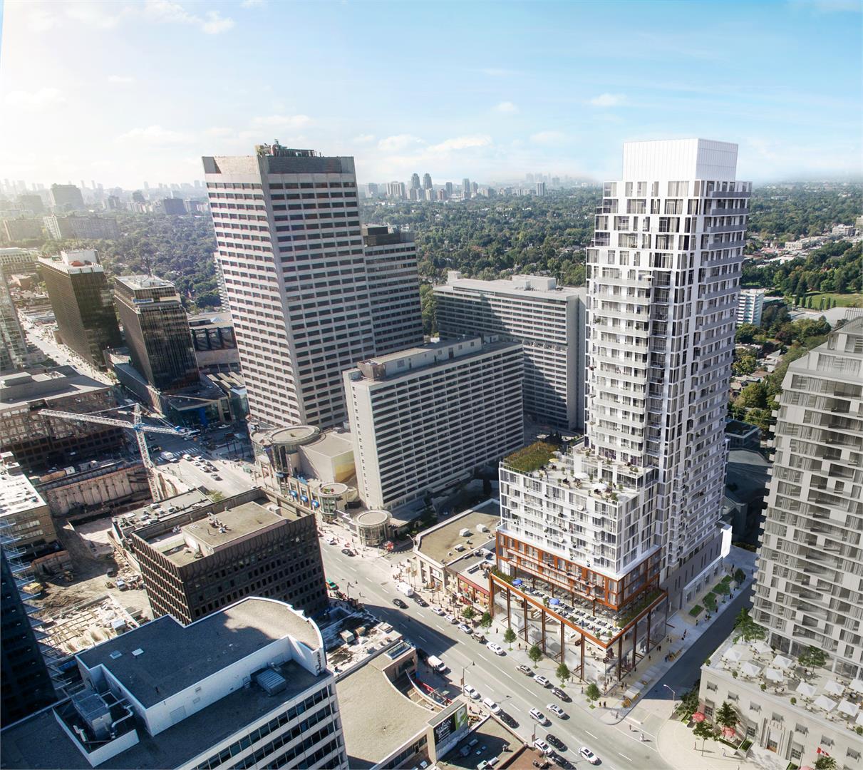 Whitehaus Condos Street View Toronto, Canada