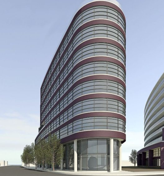 Flatiron Lofts Condos Building View Toronto, Canada