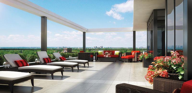 The Barrington Condos Terrace Toronto, Canada