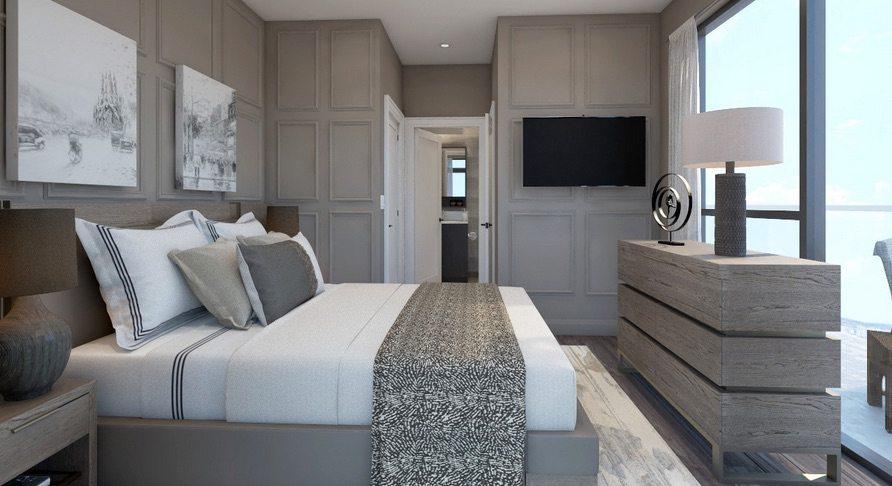 Mills Square Condos Bedroom Toronto, Canada