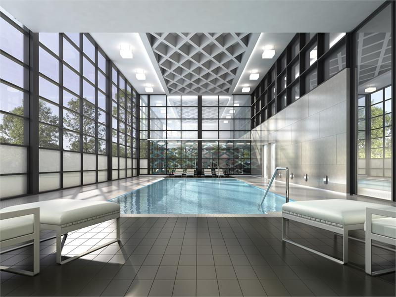 DT Erin Mills 2 Condos Swimming Pool Toronto, Canada