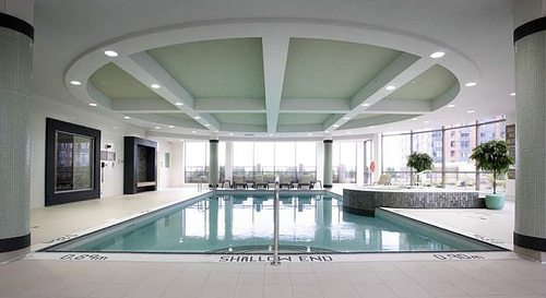 Ovation Condos Swimming Pool Toronto, Canada