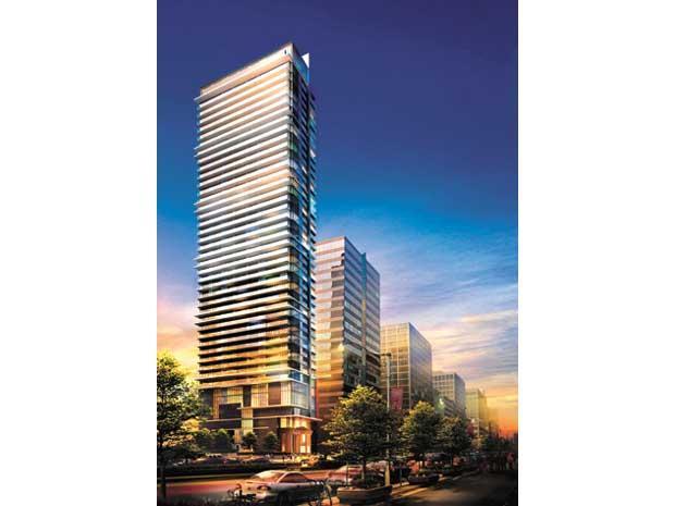 RCMI Condos Building View Toronto, Canada