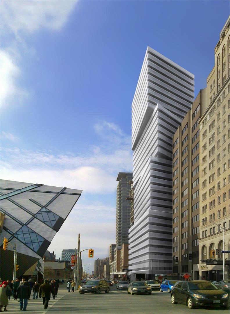 Exhibit Condos Building View Toronto, Canada