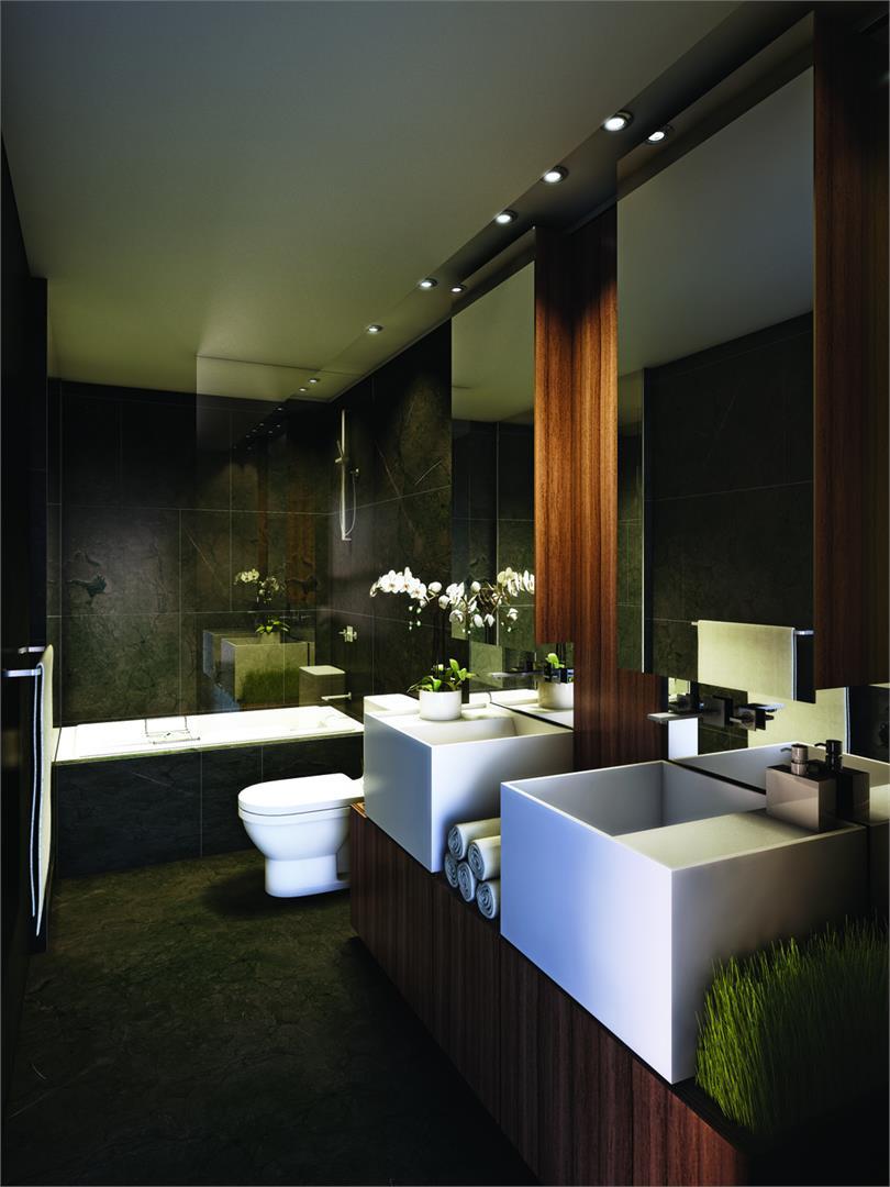 One Bloor Condos Bathroom Toronto, Canada