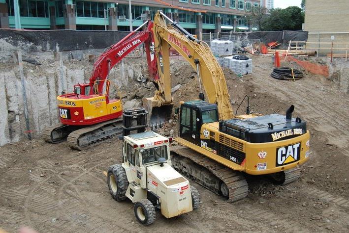 X2 Condos Construction Site Toronto, Canada
