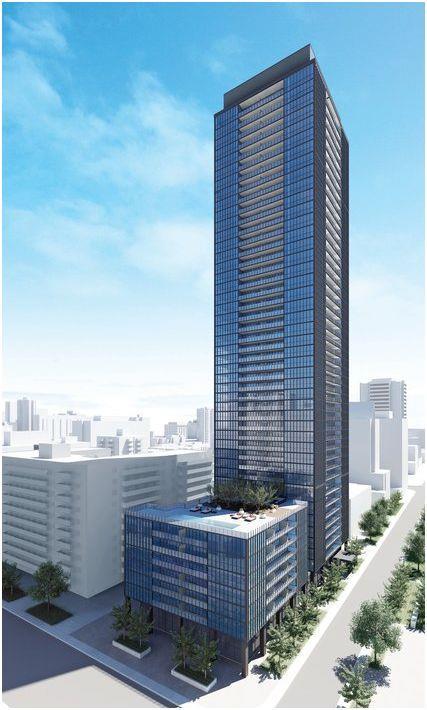 X2 Condos Building View Toronto, Canada
