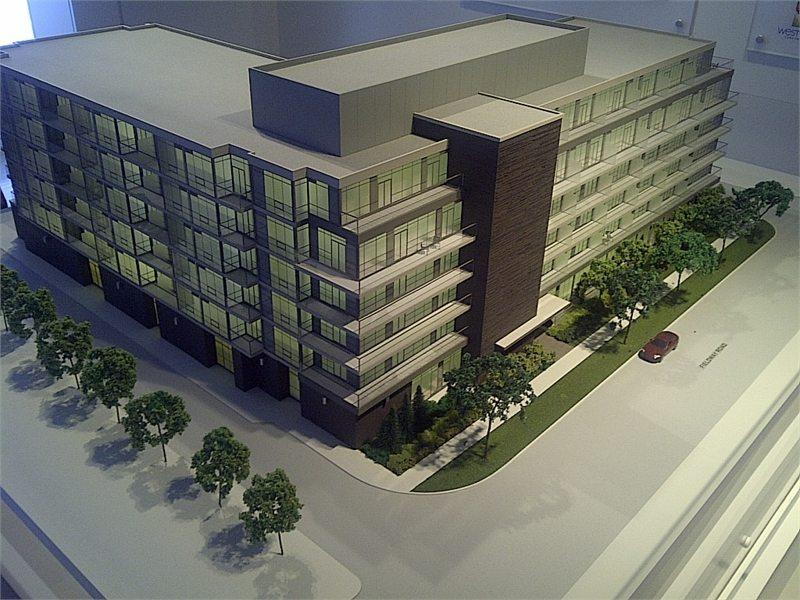 Westwood Condos Building View Toronto, Canada