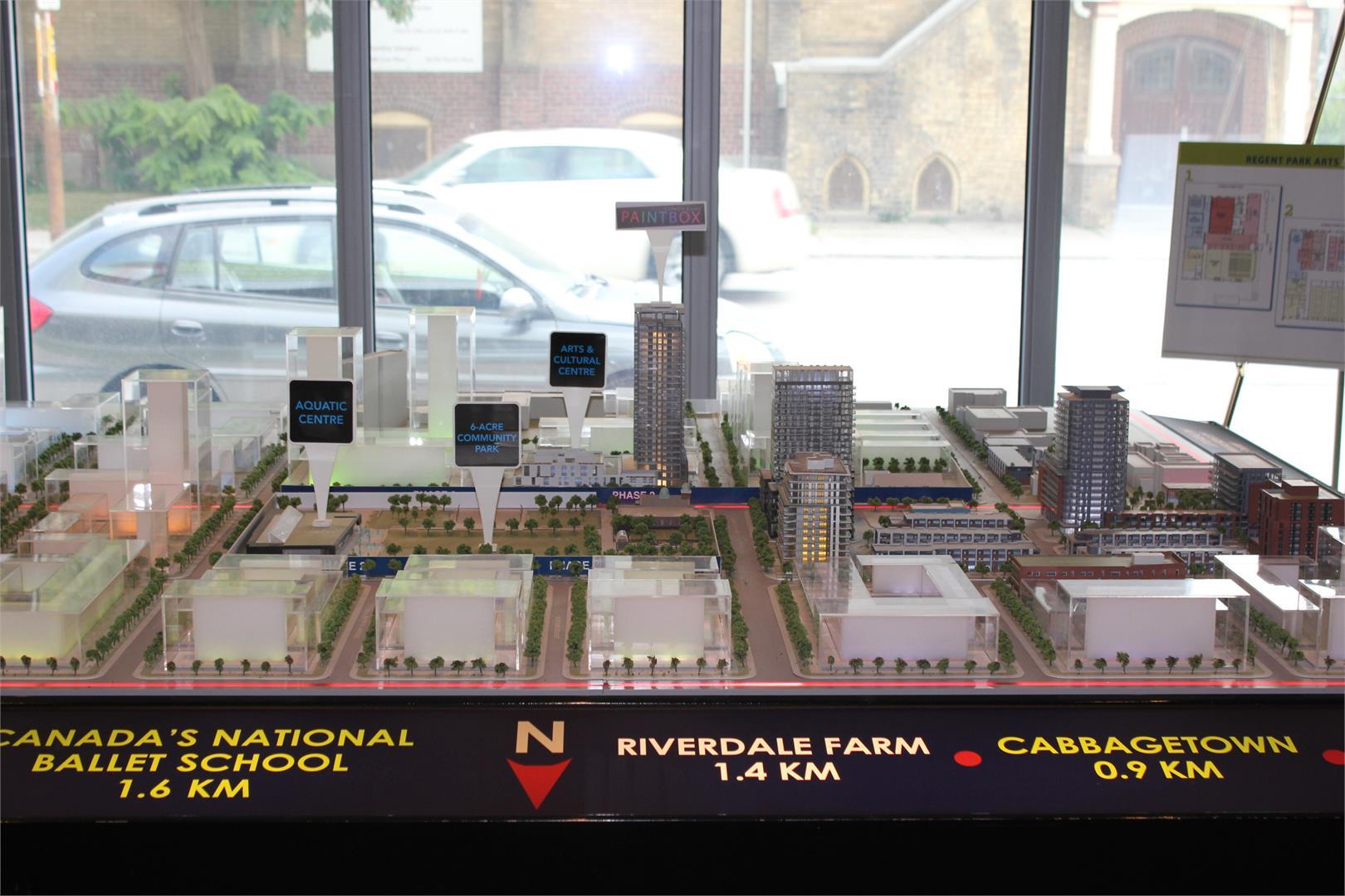 Paintbox Condos Model View Toronto, Canada