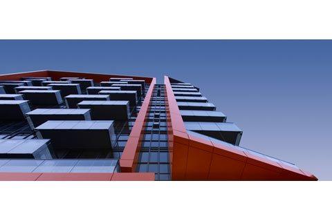 Reve Condos Upward View Toronto, Canada