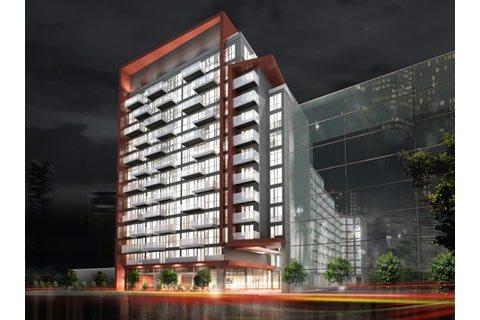 Reve Condos Building View Toronto, Canada