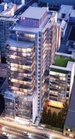Ivory Condos Street View Toronto, Canada