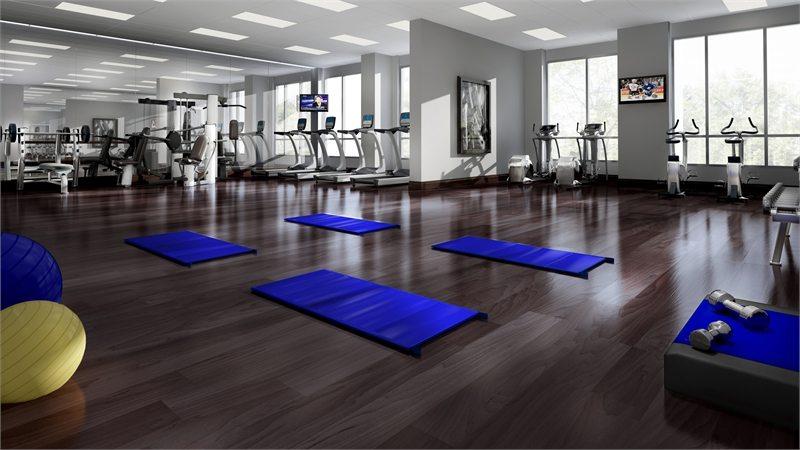 Vivid Condos Gym Toronto, Canada