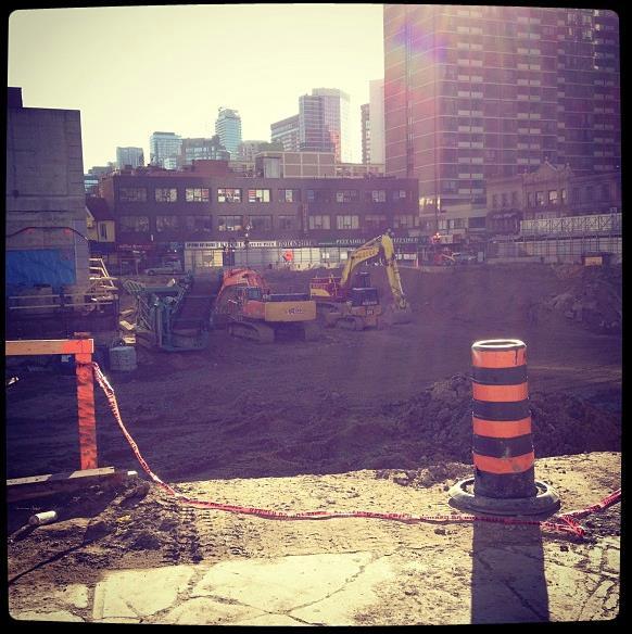 One Bloor Condos Under Construction Toronto, Canada