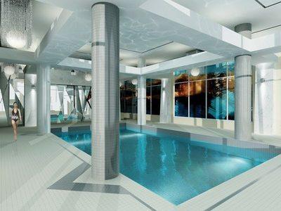 Savvy Condos Swimming Pool Toronto, Canada