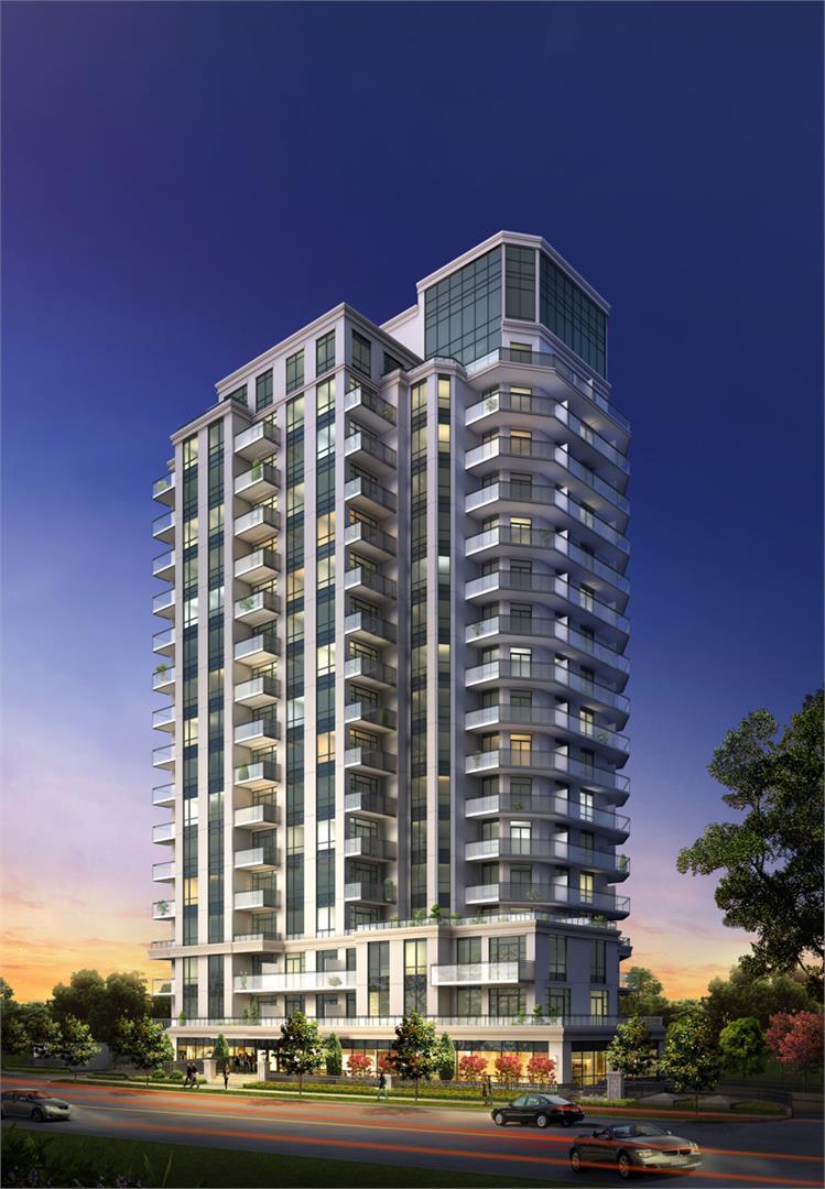 The Lexington Condos Building View Toronto, Canada