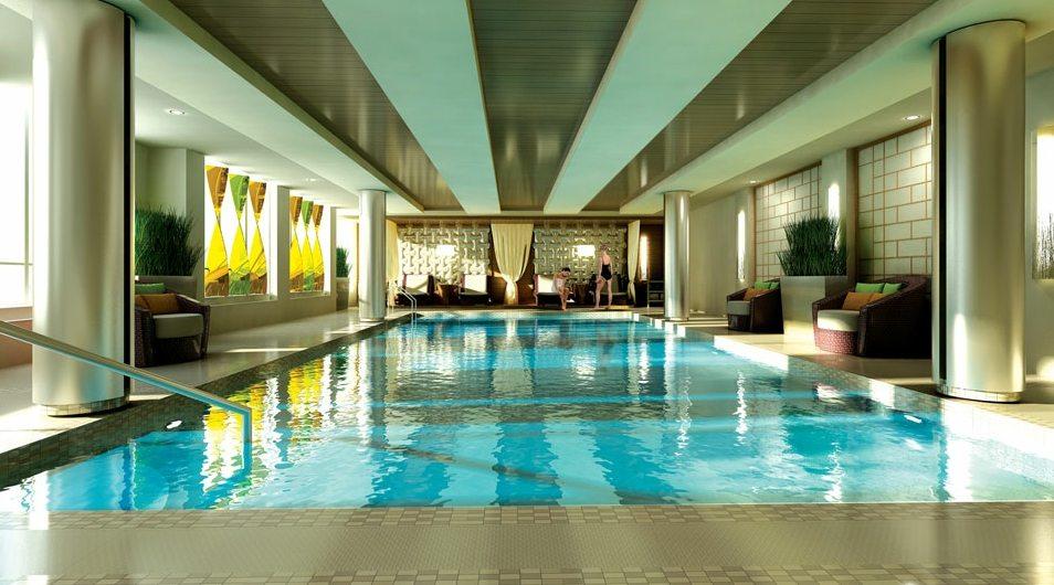 Vivid Condos Swimming Pool Toronto, Canada