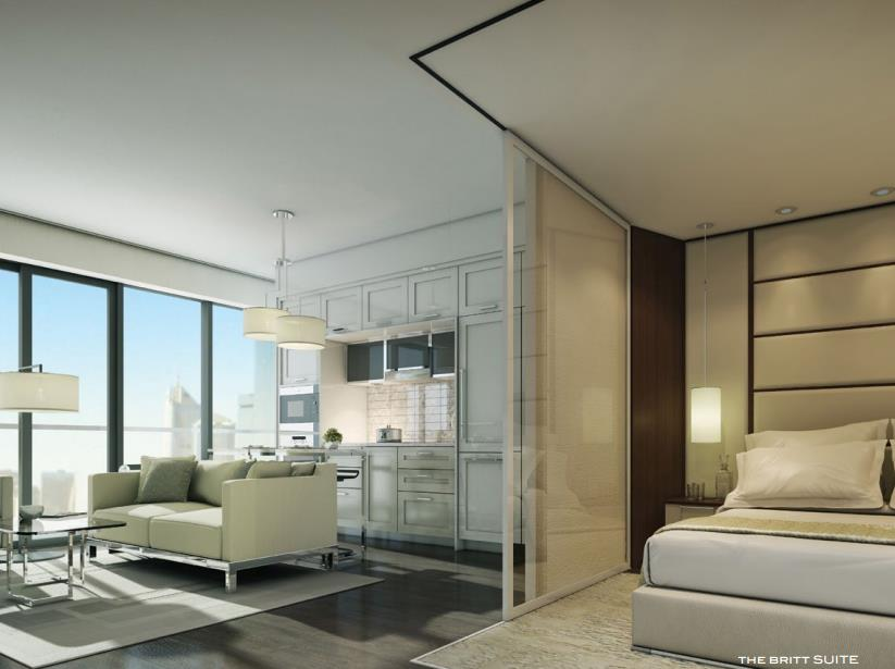 The Britt Condos Suite View Toronto, Canada