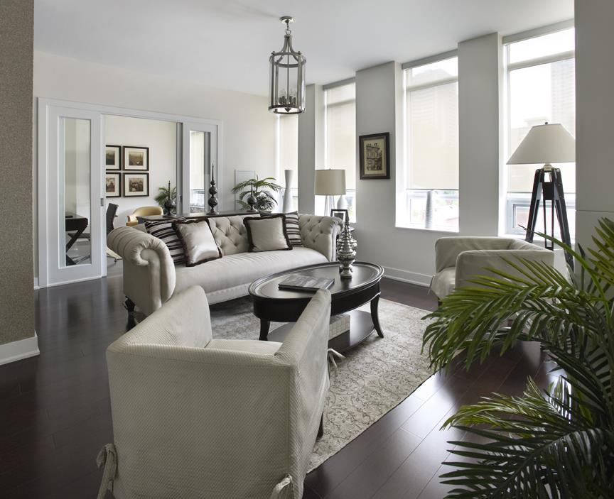 James Cooper Mansion Condos Living Room Toronto, Canada