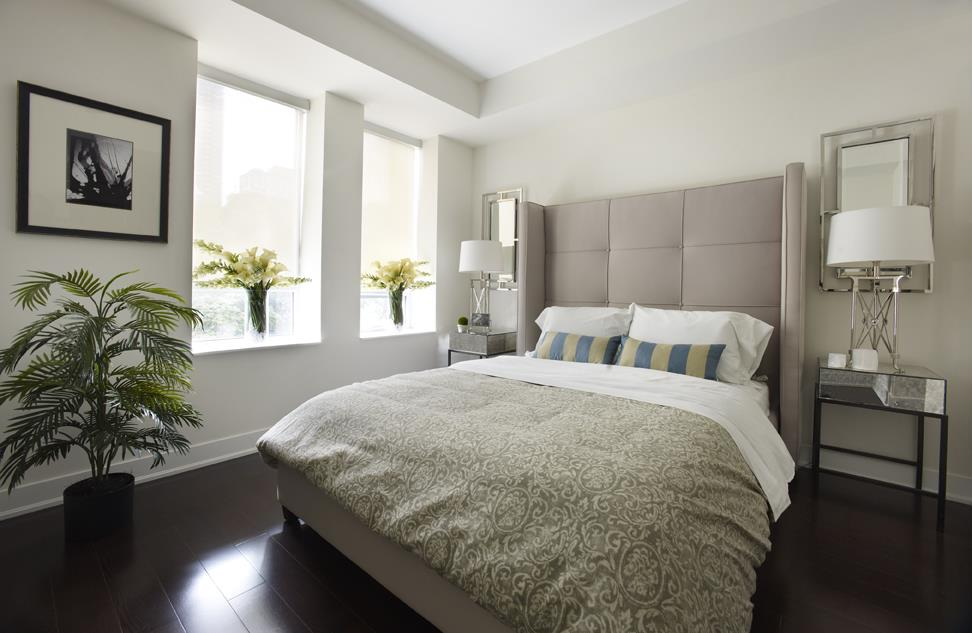James Cooper Mansion Condos Bedroom Toronto, Canada