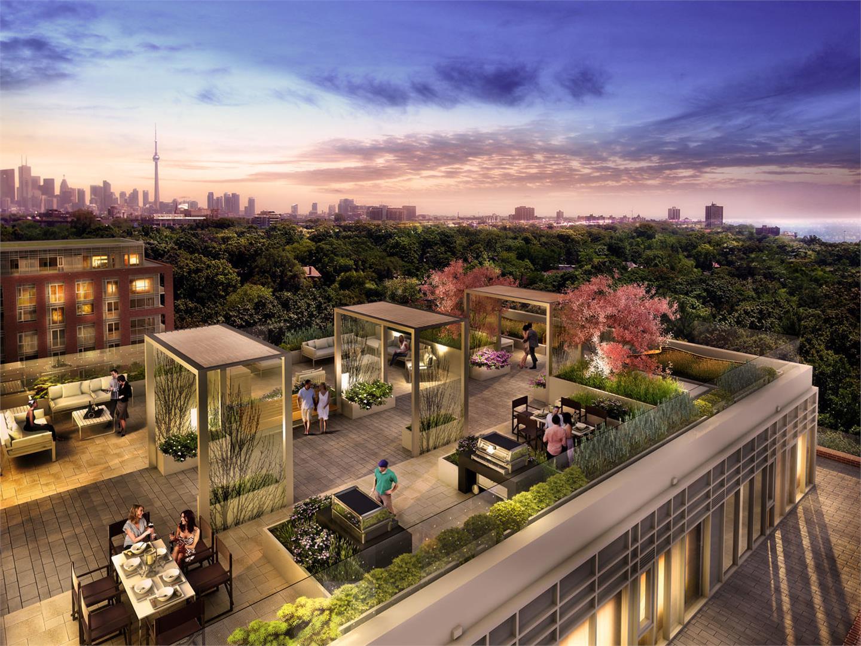 HighPark Residences Condos RoofTop Area Toronto, Canada