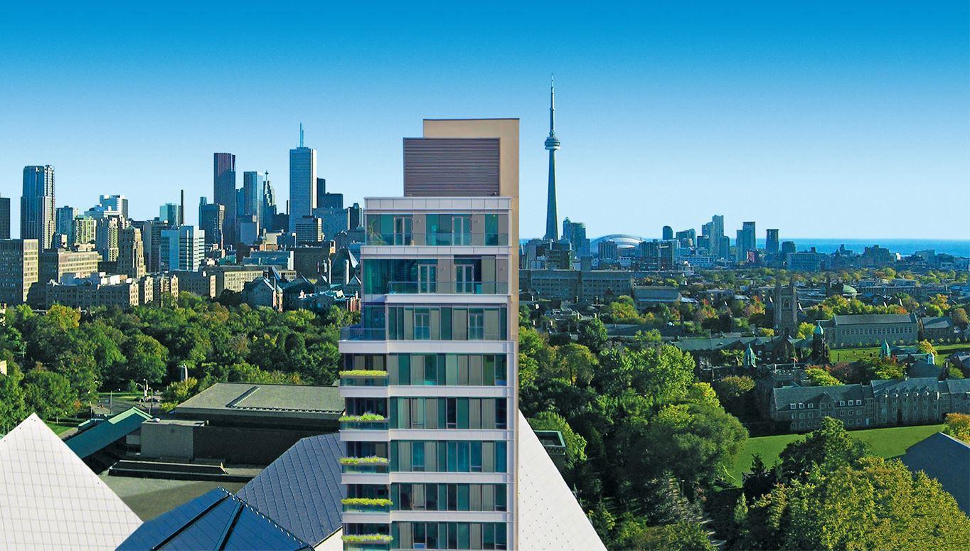 MuseumHouse Condos Balcony View Toronto, Canada
