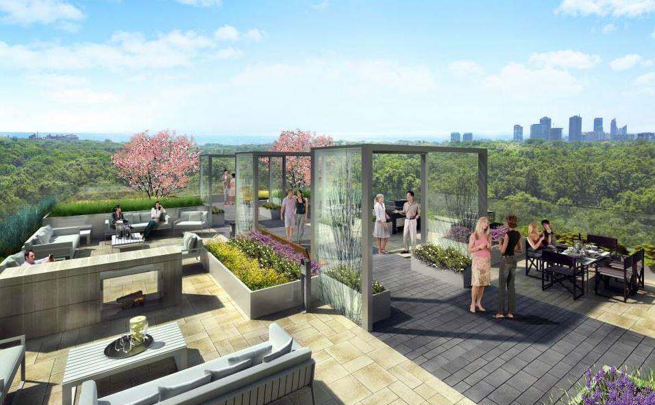 HighPark Residences Condos Open View Area Toronto, Canada