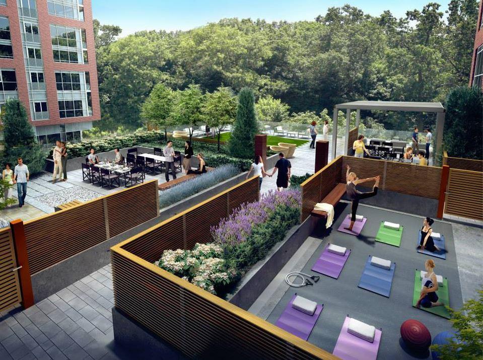 HighPark Residences Condos Workout Area Toronto, Canada
