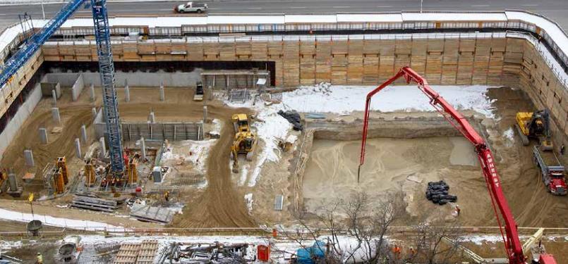 HighPark Residences Condos Construction Work Toronto, Canada