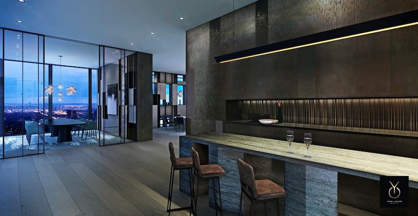 YC Condos Wine Lounge Toronto, Canada