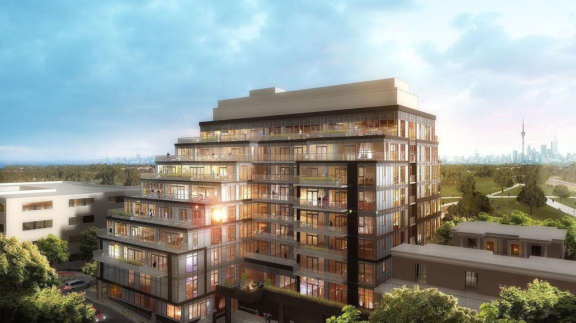 The Code Condos Building View Toronto, Canada