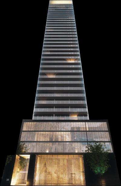 VOX Condos Building View Toronto, Canada