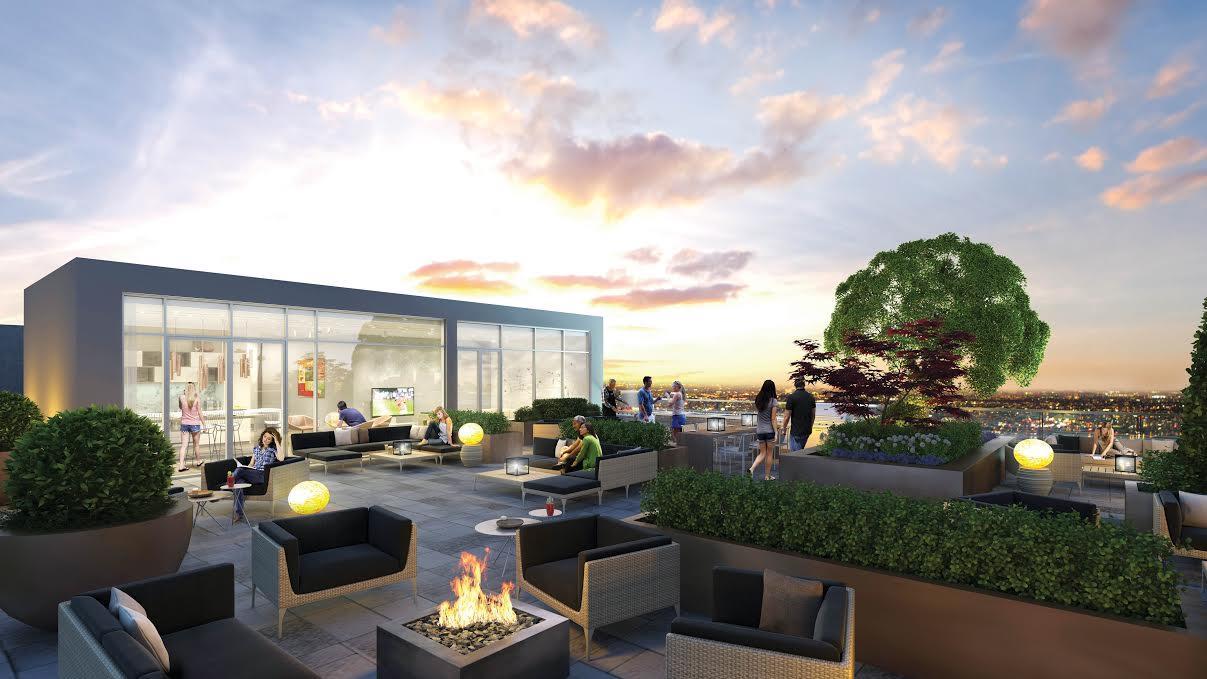 The Nest Condos Terrace Lounge Toronto, Canada