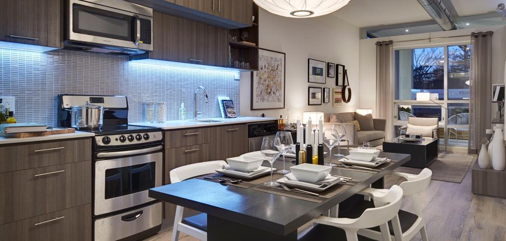 ParkCity Condos Dinning Area Toronto, Canada