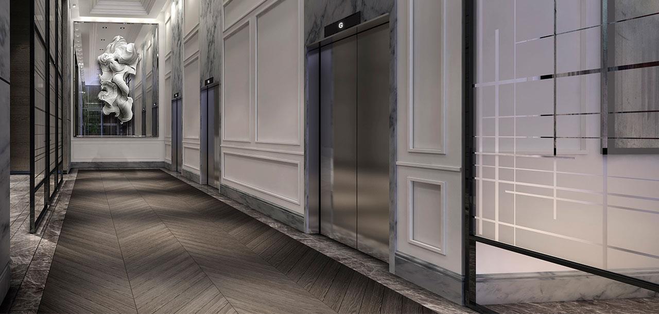The Jack Condos Elevator Toronto, Canada