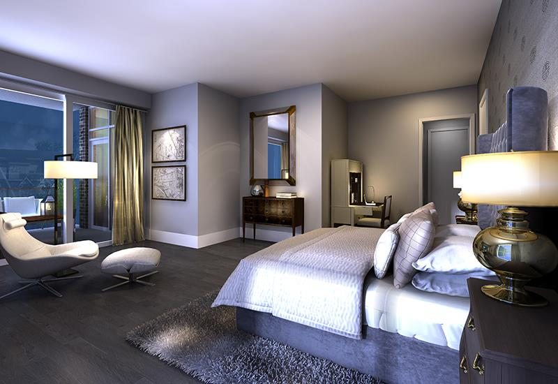 101 Erskine Condos Bedroom Toronto, Canada
