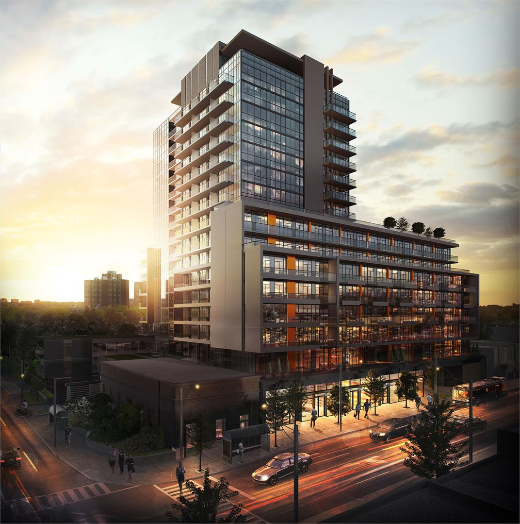 Empire Midtown Condos Building View Toronto, Canada
