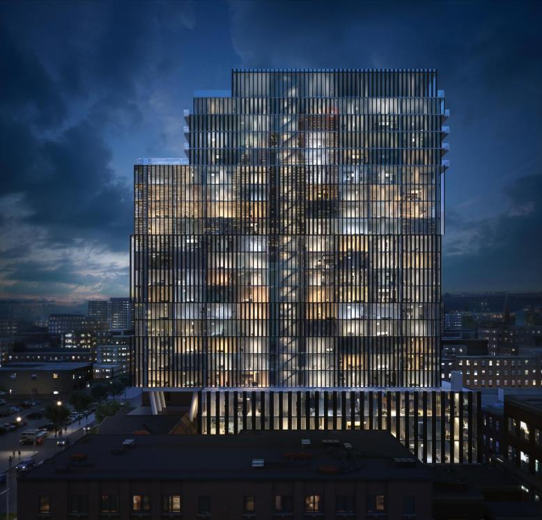 Wellington House Condos Building View Toronto, Canada
