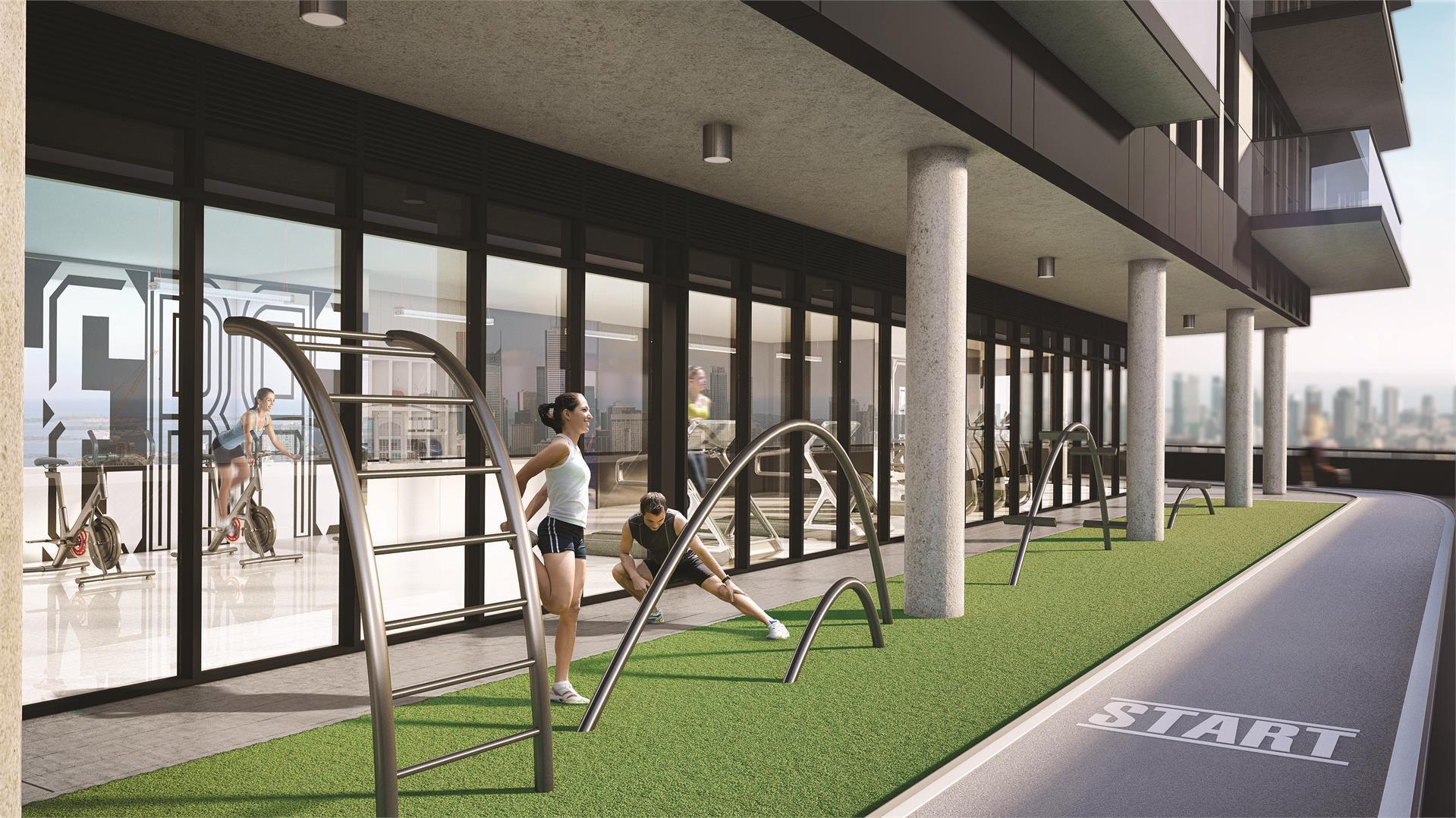 159SW Condos Fitness Center Toronto, Canada