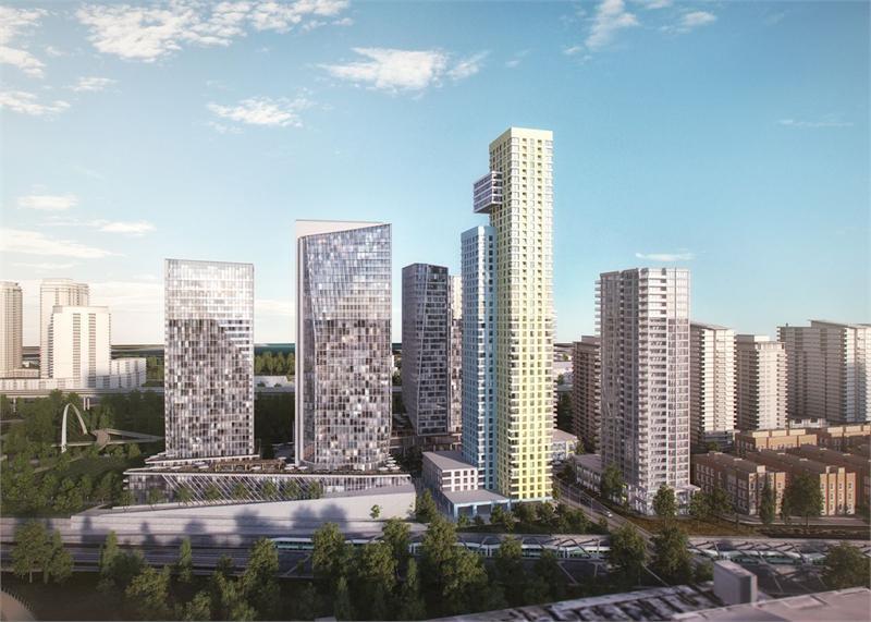 Garrison Point Condos Building View Toronto, Canada