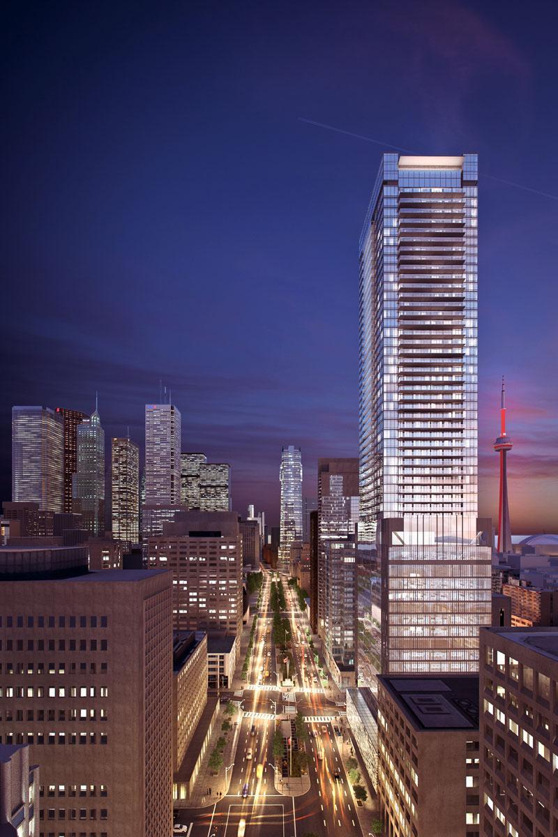 488 University Condos Street View Toronto, Canada