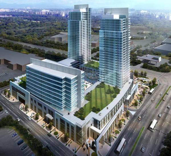 Centro Square Condos Property View Toronto, Canada